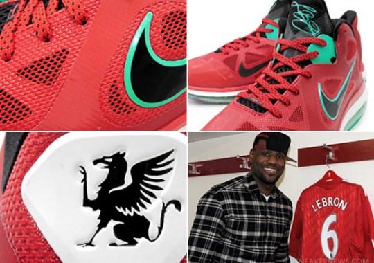 Nike LeBron 9 Low 'Liverpool FC'