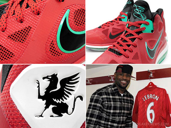 differently ef9d2 3c160 Nike LeBron 9 Low Liverpool FC