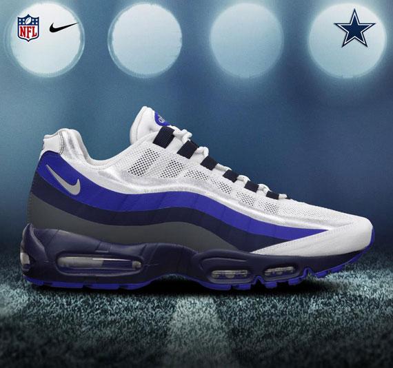 NFL x Nike Air Max 95 No Sew NFC EAST