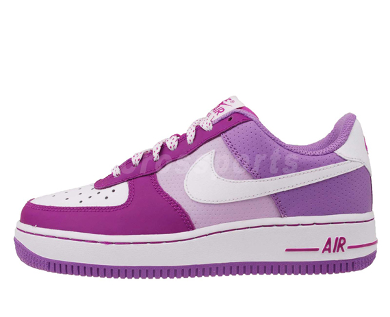 air force nike violet