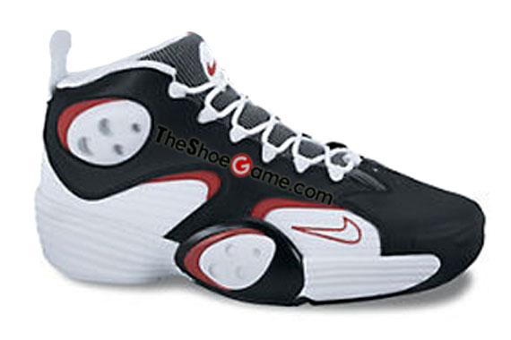 Nike Air Flight One White Black Wolf Grey Red