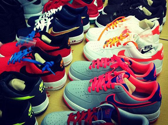 Nike Air Force 1 Upcoming 2012 Colorways