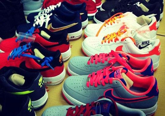 Nike Air Force 1 – Upcoming 2012 Colorways
