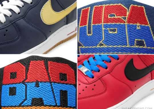 Nike Air Force 1 Low + Dunk High 'Olympic Pack'
