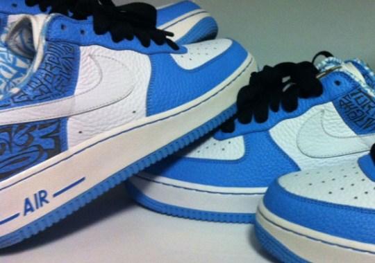 Nike Air Force 1 Low 'Entourage' – White Swoosh Sample