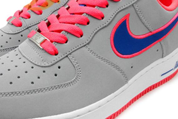 Nike Air Force 1 Low - Grey - Royal
