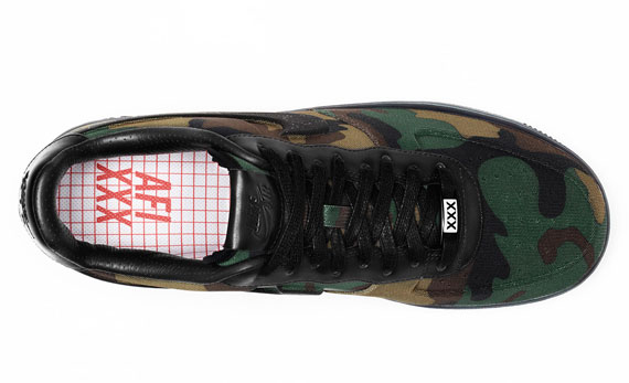 los angeles 5b581 f2765 Nike Air Force 1 Low Max Air VT QS  Camo  - Release Date ...
