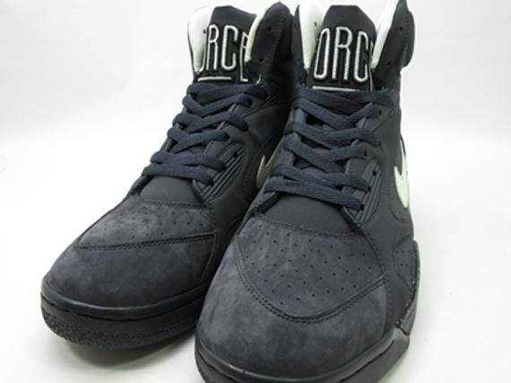 Nike Air Force 180 Alta Negro XrxA77NKX