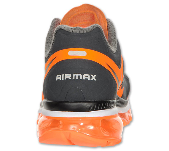 nike air max 2012 - anthraciteblack-total orange