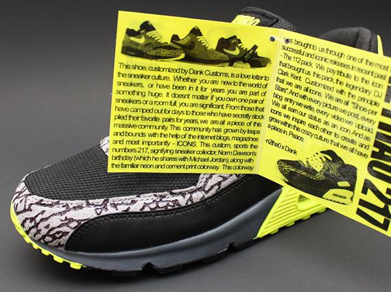 e65565401d ... essential custom Nike Air Max 90 112 by Dank Customs - SneakerNews.com  ...