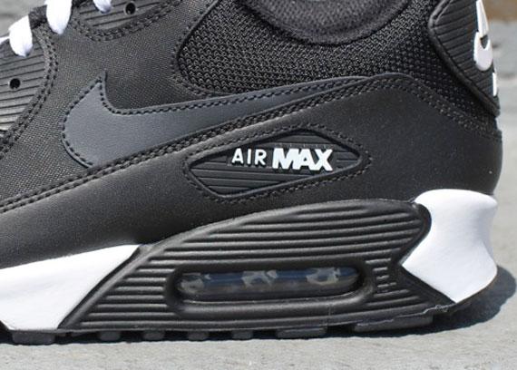 nike air max 90 black white anthracite