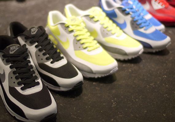 pretty nice 19225 3151a Nike Air Max 90 Hyperfuse Premium  Suede Pack  – New Images