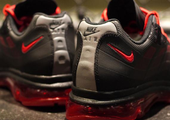 pretty nice 68412 4d819 Nike Air Max 95+ BB - Black - Sport Red - SneakerNews.com