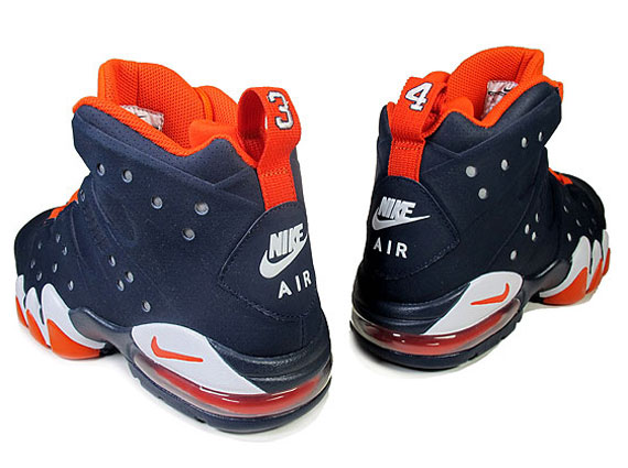 Nike Air Max Barkley Obsidian Team Orange