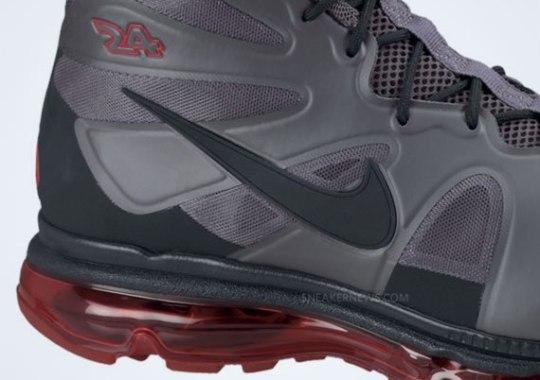 Nike Air Max Griffey Fury – Dark Grey – University Red