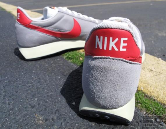 Nike Air Tailwind – Medium Grey – Action Red