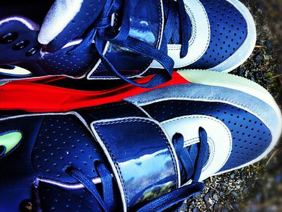Nike Air Yeezy Grey Black Fire Red | Unreleased Sample