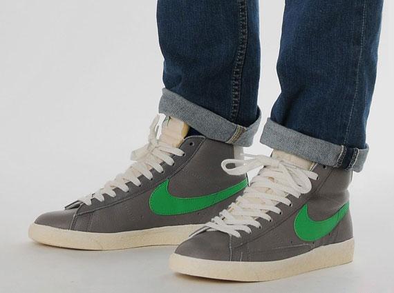 super cute 50c0b 4ffaa Nike Blazer High - Stussy-Inspired Size? Exclusives ...