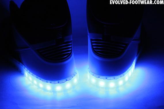 764b808ebb86b3 Nike Dunk High Hyperfuse iD Light-Up Customs By Evolved Footwear ...