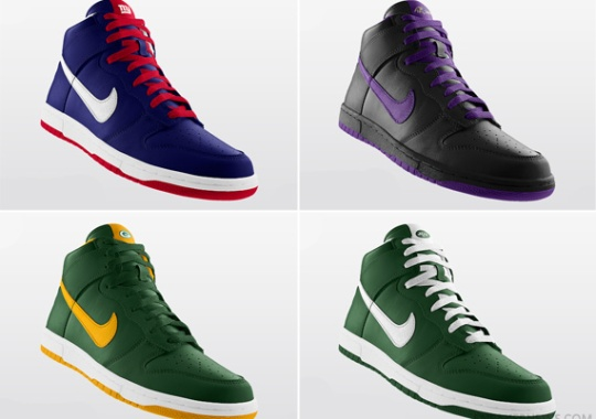 Nike Dunk High iD NFL