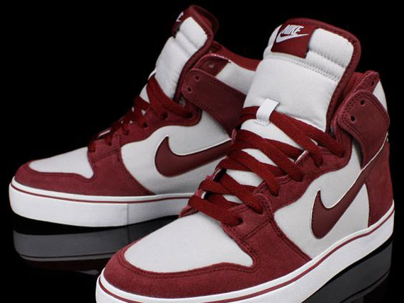 Nike Dunk High LR - Team Red - Metallic