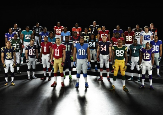 Nike Unveils Elite 51 NFL Uniforms