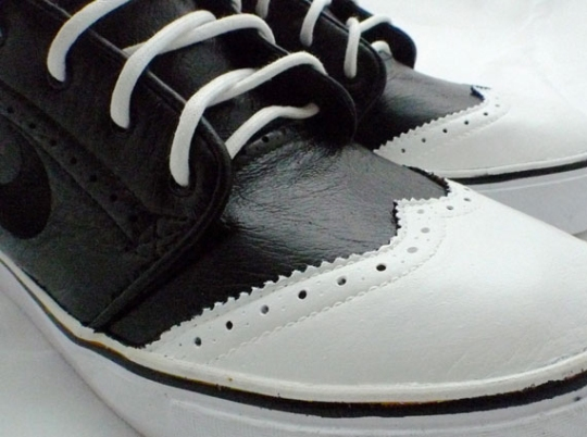 Nike SB Stefan Janoski Mid 'Wingtip' Customs By Solecity Pinas