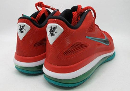 Nike LeBron 9 Low 'Liverpool' – Sample
