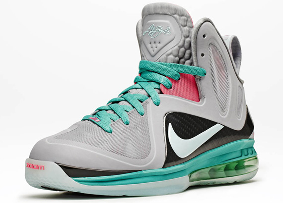check out 8f9ed b4e87 Nike LeBron 9 P.S. Elite  South Beach  - Official Images ...