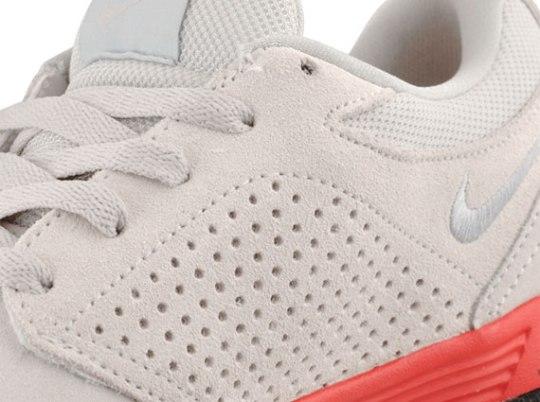 Nike P-Rod V – Swan – Atomic Red