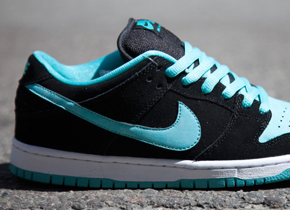 Nike SB Dunk Low Pro - Black - Clear Jade - SneakerNews.com 4093041423