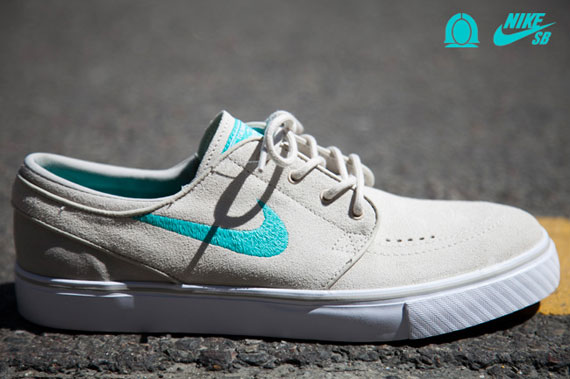 Nike Sb Stefan Janoski Birch Clear Jade New Images
