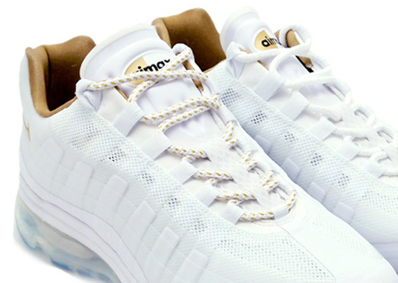 Air Max 95 White And Gold