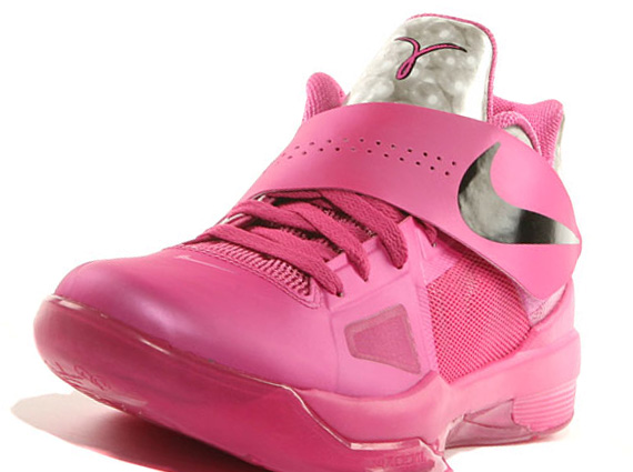Nike Zoom KD IV Aunt Pearl/Think Pink Release Date