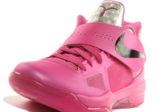 Nike Zoom KD IV 'Aunt Pearl/Think Pink' – Release Date