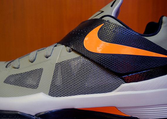 sale retailer a26df ff475 Nike Zoom KD IV – Rogue Green – Black – Total Orange