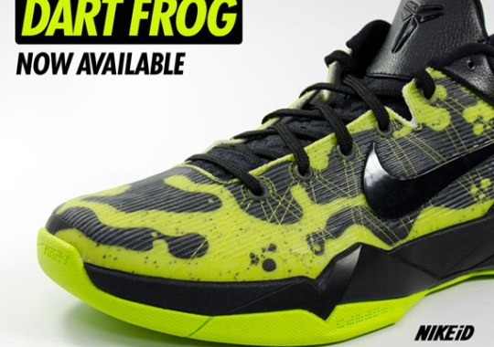 Nike Zoom Kobe VII iD – Poison Dart Frog Options | Available