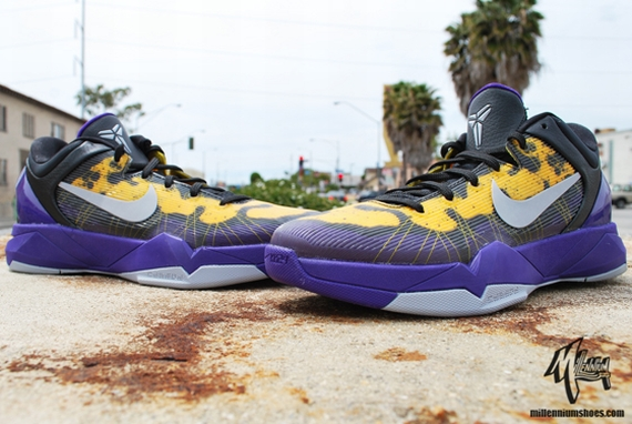 quality design 2b853 d2ff9 Court Purple Wolf Grey-Black-Tour Yellow 488371-500 05 05 12  140 · 80%OFF Nike  Zoom Kobe VII Poison Dart Frog Lakers   Arriving Retailers
