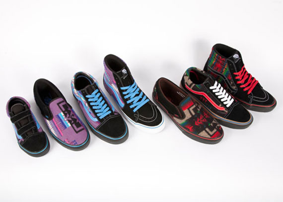 $10000 Worth Of Pendleton x Vans x Nibwaakaawin 2012 Stolen