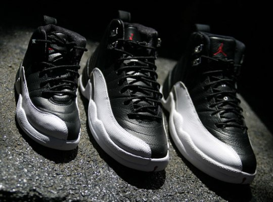 Air Jordan XII 'Playoffs' – Full Family Sizes