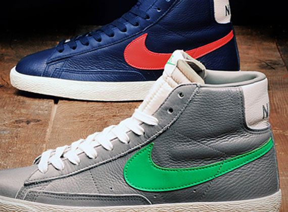 sneakers for cheap 30e45 50411 Stussy x Nike Blazer Inspired Colorways Coming in 2012 ...