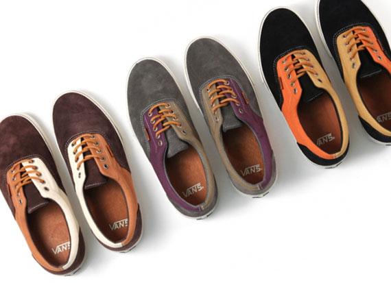 028eb0574d Vans Vault Era LX  Suede Twill  Pack - SneakerNews.com