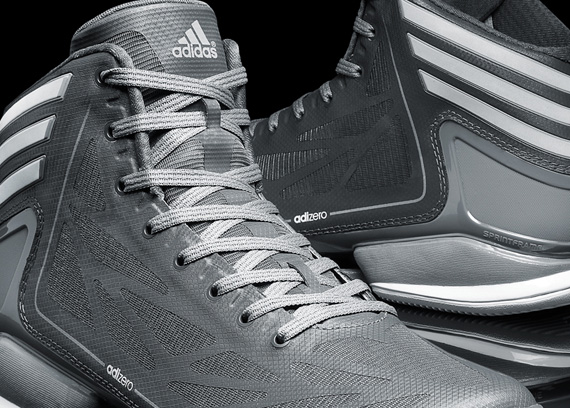 adidas adiZero Crazy Light 2 Dark Onyx Tech Grey White