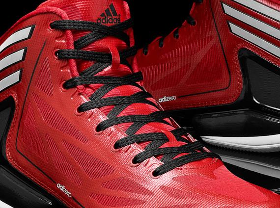 adidas adiZero Crazy Light 2 - Scarlet - Black - White - SneakerNews.com ee1de3d42a