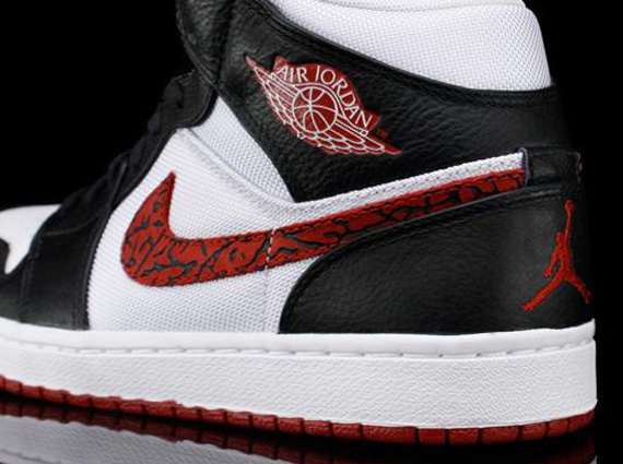 Air Jordan 1 Phat - White - Varsity Red - Black  385b128d6