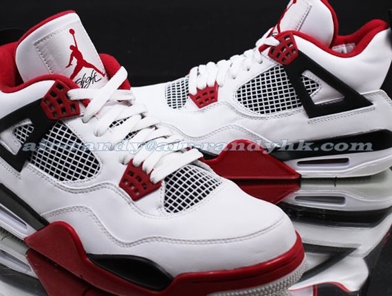 new concept 21f4d db10f Air Jordan IV Retro - White - Varsity Red - Black - SneakerNews.com