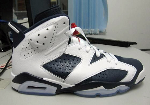 new product 59947 a6115 Air Jordan 6 Retro  Olympic  - New Photos - SneakerNews.com