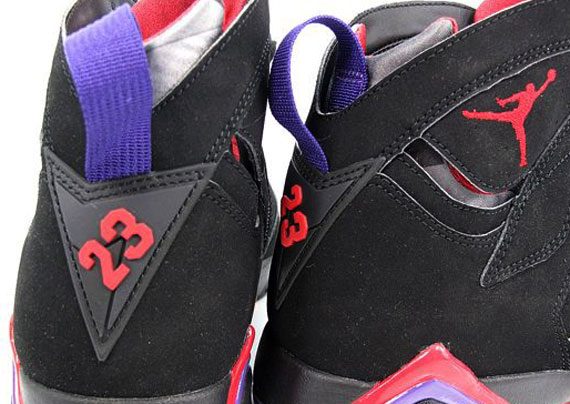 05d7ddaf89ae Air Jordan VII - Black - True Red - Dark Charcoal - Club Purple ...