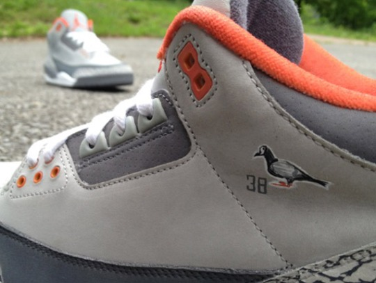 Air Jordan III 'Pigeon' Custom by Mache