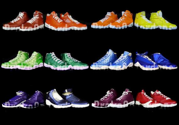 5385304bb765 Air Jordan  Rainbow Pack  - SneakerNews.com